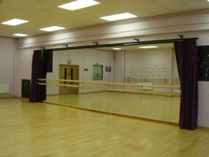 Wall Mounted Ballet Barres And Brackets